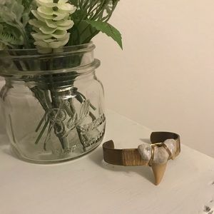 Bourbon & Boweties Shark Tooth Cuff